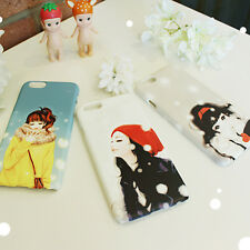 Lovely ColorCode Phone Hard Back Skin Case Cover for Smart Phone - WINTER SNOW