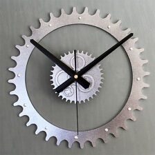 Creative Metallic 3D Gear Clocks DIY Wall Clock Home Decor Watch Unique Gift