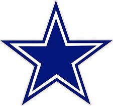NFL DALLAS COWBOYS vinyl graphic 7 year outside vinyl decal sticker
