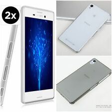 0.2 ULTRA THIN CLEAR Silicon GEL SOFT Cover Case Back Skin For Sony Xperia Phone