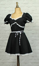 Vintage 80s Retro Women Dress Prom Evening Cocktail Party Rockabilly UK 10/12