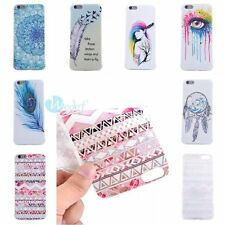 ULTRA THIN Fashion Rubber Soft TPU Back Cover Case Skin For iPhone 6S 6 6PLUS 5S