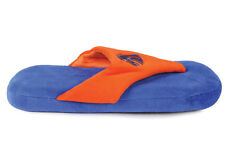 Happy Feet Mens and Womens Boise State Comfy Flop Slippers
