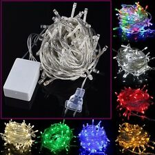 10M 100LED Fairy String Light Christmas Wedding Party Twinkle Decor Light Lamps