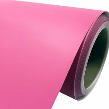 Matte Satin Pink Vinyl Car Wrap Air Release Film High Quality Free Squeegee