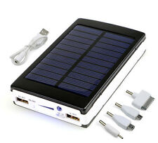 12000MAH Portable Solar Power Bank External Battery Charger for Mobile Phone
