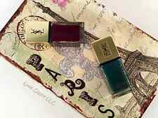 YSL LA LAQUE SCANDAL NAIL COLLECTION ~ FUR GREEN OR VINTAGE PLUM NEW IN BOX! ��