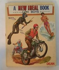 VINTAGE 1974 New Ideal Book For Boys- Annual- Collectable