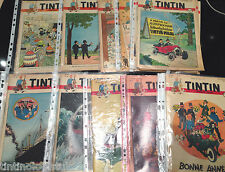 Journal Tintin 1948 & 1949 Vintage Comics - BUY INDIVIDUALLY Herge Couverture