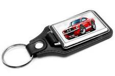 1967 Shelby GT500 Mustang Classic Muscle Car-toon Key Chain Ring Fob NEW