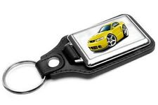 2003-04 Ford Mustang Cobra Car-toon Key Chain Ring Fob NEW