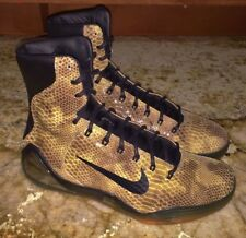 NEW Mens 9 10 11 NIKE KOBE 9 EXT QS Snakeskin High Top Basketball Shoes Sneakers