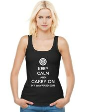 Keep Calm and Carry On My Wayward Son Women Tank Top Supernatural