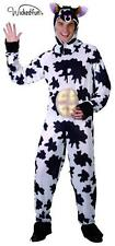 Mens Cow Fancy Dress Udders Farmyard Stag Do Novelty Funny Milking Onesie