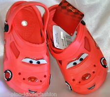 Disney Cars Lightning McQueen Boys Girls Clogs Slippers Red 22 - 30 New