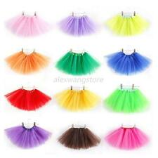 Baby Girl Ballet Dance Dress Tutu Costumes Stage Show Princess Skirt 3 Layer