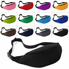 Running Hiking Sport Bum Bag Fanny Pack Travel Waist Money Belt Zip Pouch Wallet