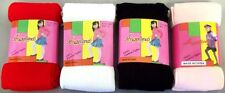 Girls Fall - Winter Tights  Tights In Solid Colors 6 Pairs Lot (00045**)