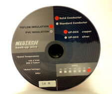 UPOCC 24 awg Hook-Up Wire - Neotech Red Teflon Insulation