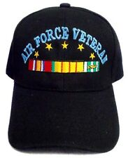 Air Force Veteran  Military Baseball Caps Embroidered  (7506AF37**)