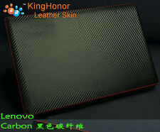 KH Special Laptop Carbon Leather Cover Skin Protecotor For Lenovo S41-70