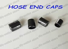 Rubber Hose End Caps Pack Finisher for Steel Braided Hose 10 - 12mm