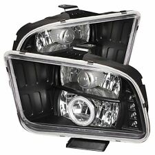 Spyder Projector Headlights, Fits Ford Mustang 05-09
