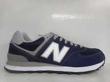NEW BALANCE 574 MEN'S ATHLETIC SNEAKERS SUEDE NAVY ML574VIC SELECT SIZE
