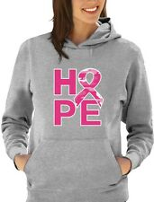 Camo Pink Ribbon Hope Breast Cancer Awareness Women Hoodie Support