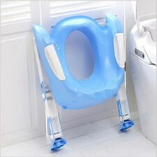 Training Folding Baby Kids Potty Seats With Ladder Children Toilet Cover Chair