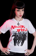 ABRASIVE WHEELS T SHIRT #2 RIOT COPS UK 82 PUNK 77 POGO