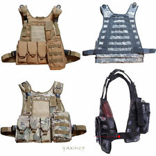 Amphibious hunting camo Tactical Military Waistcoat Combat Assault Molle Vest