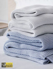 Premium Cotton Yarn Blanket, Twin & Full Size Available