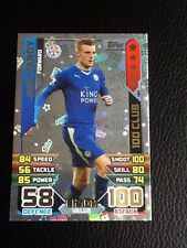 MATCH ATTAX EXTRA 2015/16. JAMIE VARDY, LEICESTER CITY, HUNDRED 100 CLUB