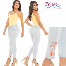Colombian Jeans Levanta Cola Fajate Virtual Sensuality Push Up Butt Lifter Pants
