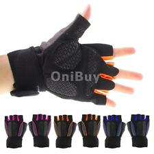 Pro Cycling Bike Bicycle Microfiber Non-Slip Sports Half Finger Gloves M/L/XL