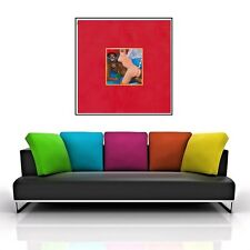 KANYE WEST / TWISTED FANTASY - ALBUM WALL ART POSTER