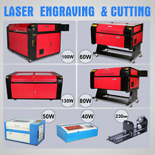 CO2 Usb Laser Engraving Cutting Machine Engraver Cutter Air Assist Carving