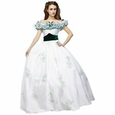 Scarlett O'Hara Costume Gone with The Wind Ball Gown Southern Belle Prom Dress #