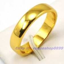 Size 7,8,9,10,10.5,11,11.5,12 Ring,REAL TOP 18K YELLOW GOLD GP SOLID FILL 4944r