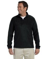 Harriton 8 oz. Quarter-Zip Fleece Pullover