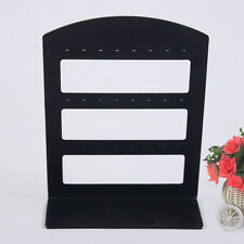 Useful 24 Holes Earring Ear Stud Jewelry Show Plastic Display Rack Stand Holder