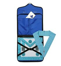 Masonic Regalia Cases, MM Apron, Officer collar and glove Master Mason apron Set