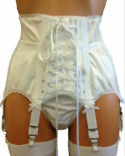 MARKETA  Luxury Cincher/Waspie Boned, Suspender Belt/Garter Belt,