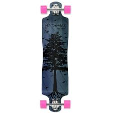 Yocaher In The Pines Series: Lowrider Complete Longboard Blue