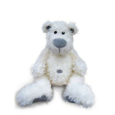 NEW Belly Button white bear by Joyce - fluffy toy washable colour safe non toxic