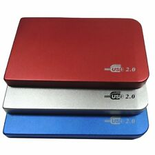 "2.5"" Sata USB 2.0 Hard Drive HDD Enclosure Box External Laptop Disk Case 500G EM"