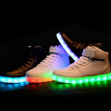 New Top Luminous Sport Shoes USB Charging Led Light Lace Up LED Unisex Sneaker