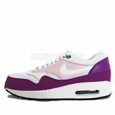 Nike WMNS Air Max 1 Essential [599820-118] NSW Running White/Cosmic Purple
