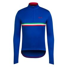 Rapha Long Sleeved Cycling Jersey Italy Blue Medium & Large BNWT       Country